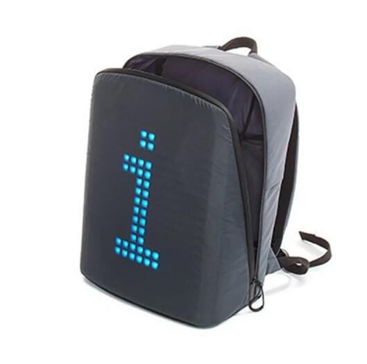 Newest  fashion trends bags LED backpack