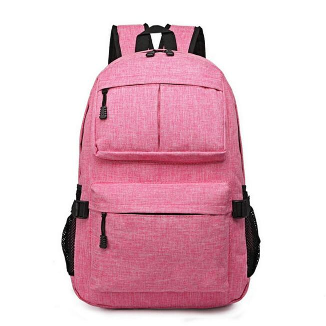 Soft Polyester Travel Korean Convertible Vintage Backpack Bag Lady For Woman