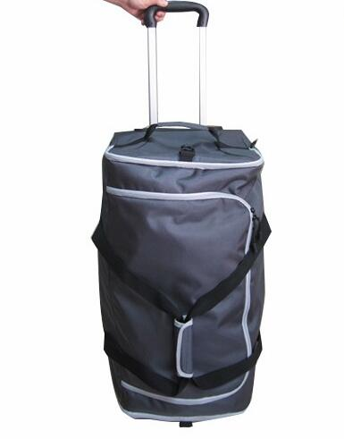 fashion design and durable extra large trolley bag