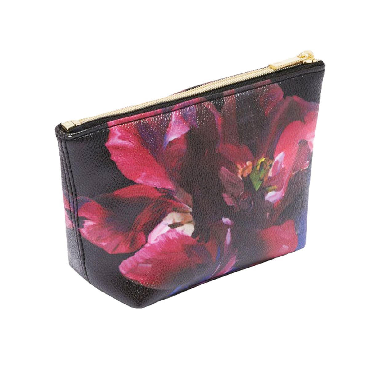 Luxury delicate ladies' cosmetic bag overall printed make up bag