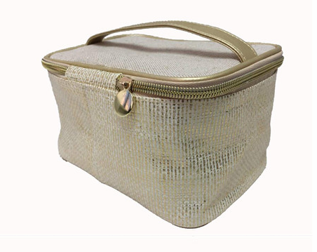 Paper straw fashion cosmetic bag and hot selling make up bag